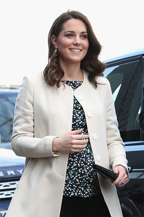 The Duchess is due in April Photo (C) GETTY