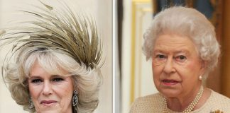 The Queen has had a frosty relationship with Camilla in the past Photo C GETT