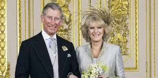 The Queen reportedly didnt mention Camilla's name at her wedding ceremony speech in 2005 Photo C GETTY