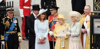 The Queen tried to smooth things over with Carole Middleton after Prince Williams fury Photo C GETTY