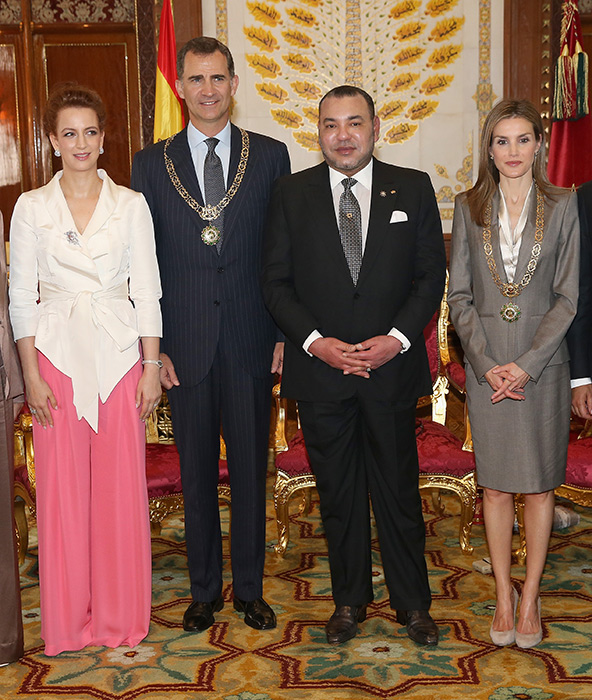 The Spanish royals cancelled their visit in January Photo (C) GETTY