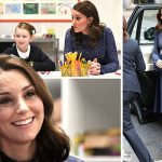The engagement is thought to be Kate's last solo appearance Photo (C) PA