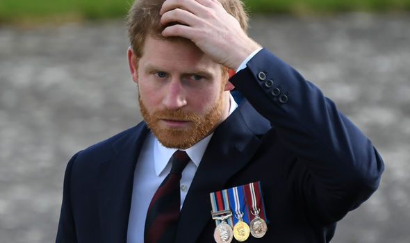 The ginger royal is given the name 'Prince Henry of Wales' in the invitation Photo (C) GETTY