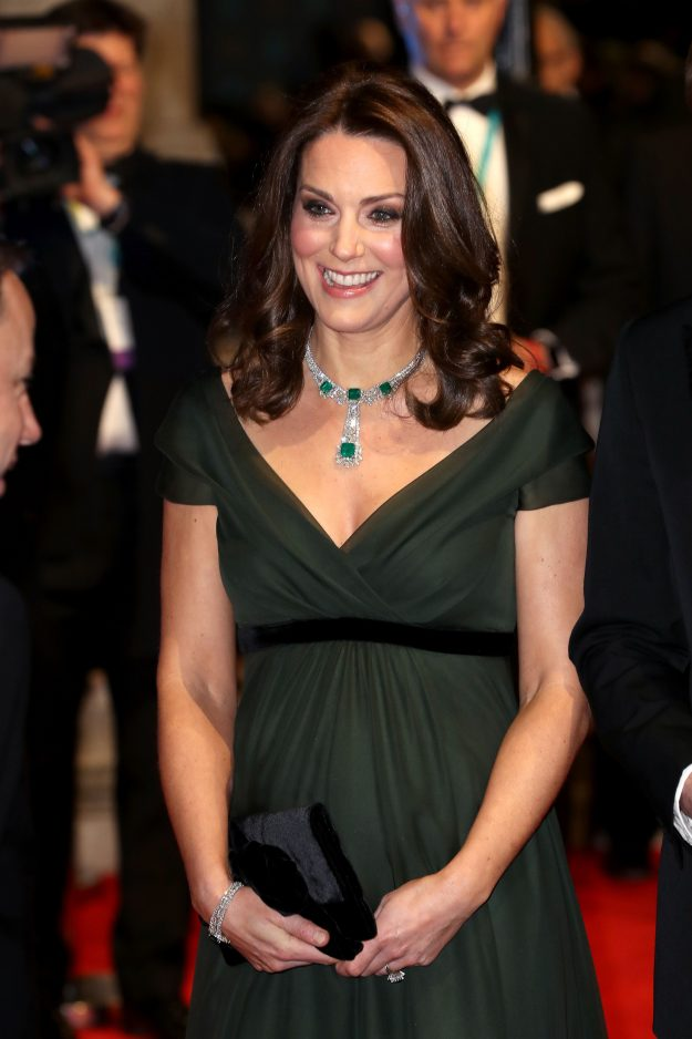 The reason Kate Middleton wears a clutch is because she usually attends more formal occassions [Getty]