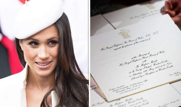 The use of the name Meghan for the invitations could stem from the fact it is more widely known Photo (C) GETTY