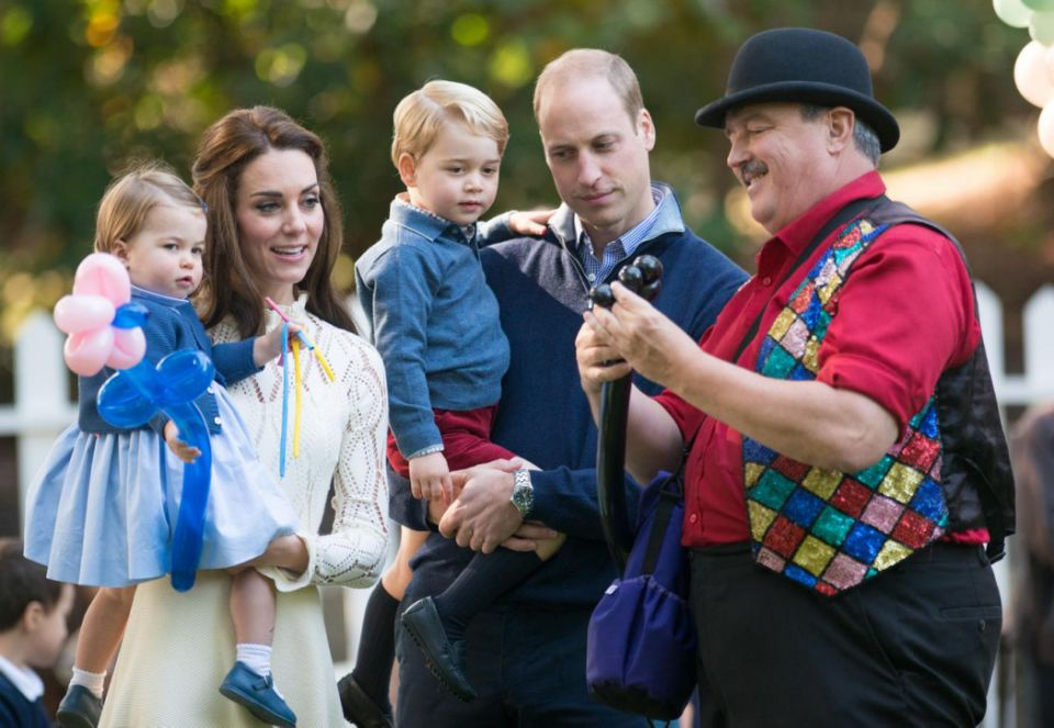There's a reason why Prince William is never spotted holding Princess Charlotte. Photo Getty Images