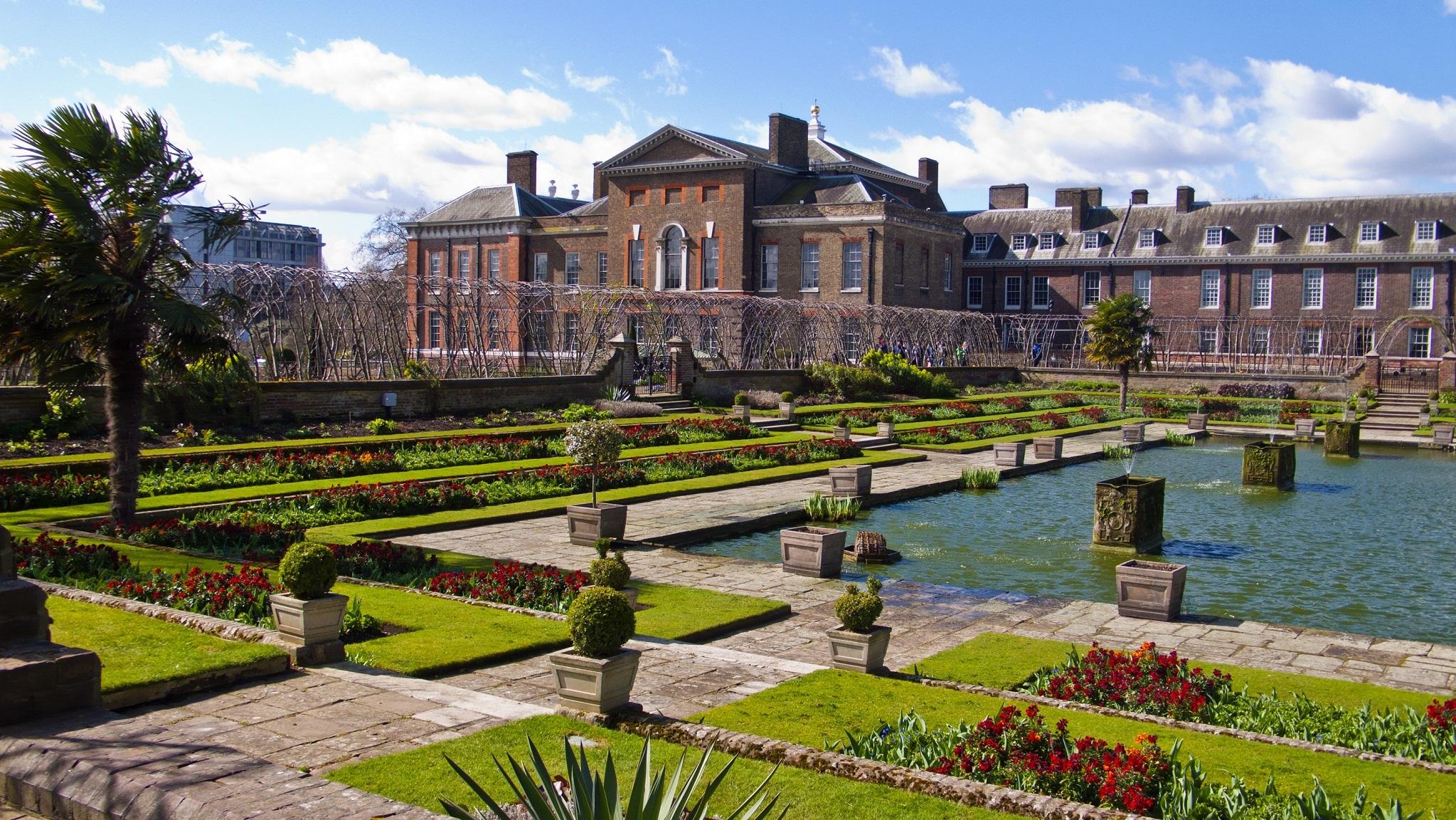 Kensington Palace gardens Photo (C) GETTY