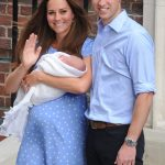 Duchess of Cambridge Kate Middleton gave birth to Prince George on July 22 2013, and introduced him to the world alongside proud Prince William the fo Photo (C) GETTY