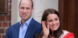 25 The Duchess of Cambridge and Prince William emerged from the Lindo Wing with their new son