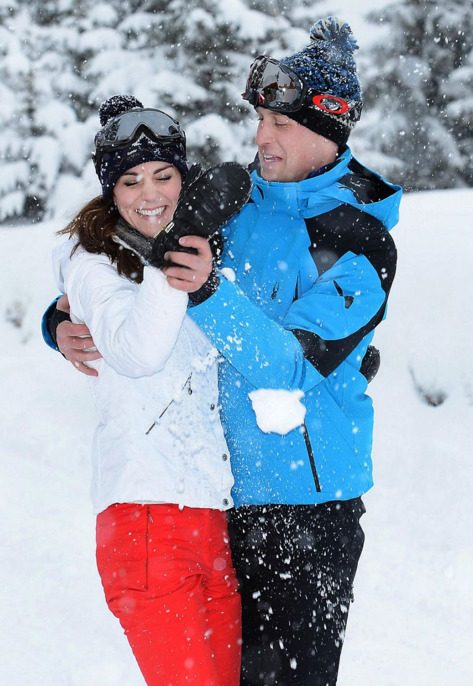 Prince William and Kate Middleton on holiday