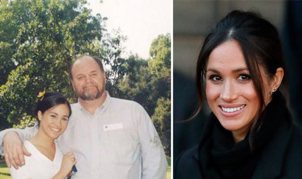 A Royal biographer has alleged that Thomas Markle will be walking his daughter down the aisle Photo (C) TIM STEWART NEWS LIMITED GETTY