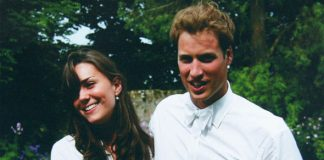 A then Kate Middleton and Prince William met at St Andrews Photo C MIDDLETON FAMILY