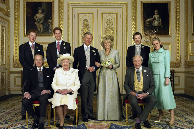 ALL SMILES But relations were between Camilla and the Queen allegedly remained frosty Photo (C) GETTY