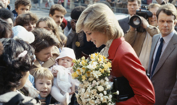 According to family friends, she was intrigued by Diana Photo (C) GETTY