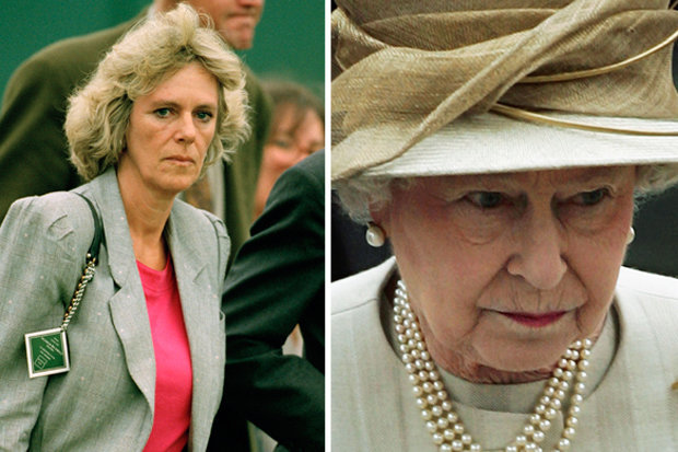 COLD SHOULDER The Queen reportedly branded Camilla a wicked woman Photo (C) GETTY