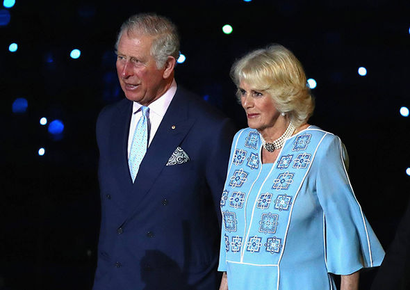 Camilla Parker Bowles and Prince Charles attended the Commonwealth Games Opening ceremony Photo (C) GETTY