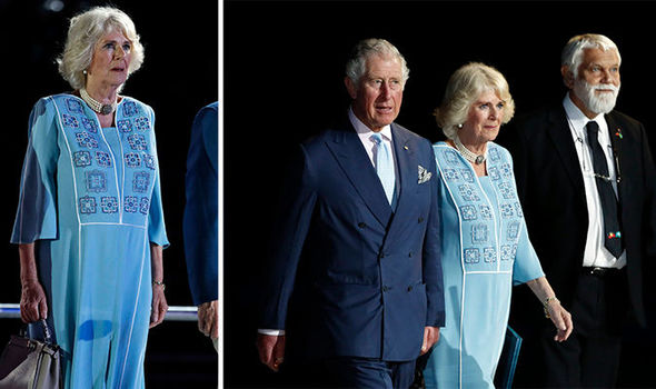 Camilla Parker Bowles appeared uninterested and bored during the Commonwealth ceremony Photo (C) REUTERS