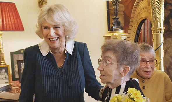 Camilla as patron of Silverline, a charity supporting the elderly Photo (C) SPUNGOLD PRODUCTIONS