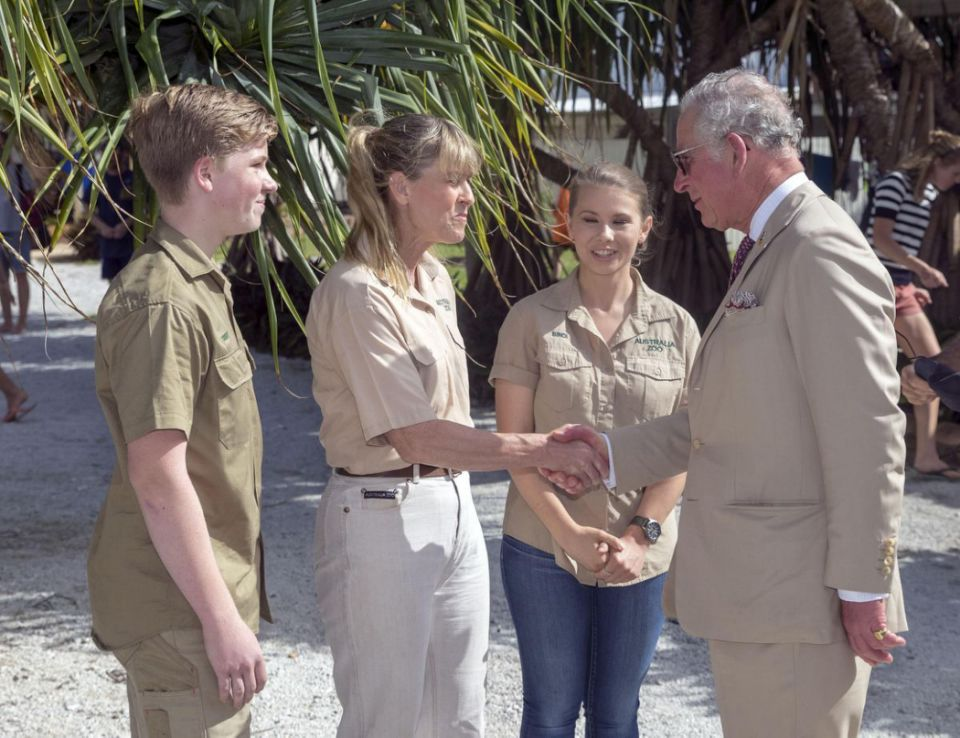Charles and Terri bonded over their mutual love for conservation. Photo (C) Getty