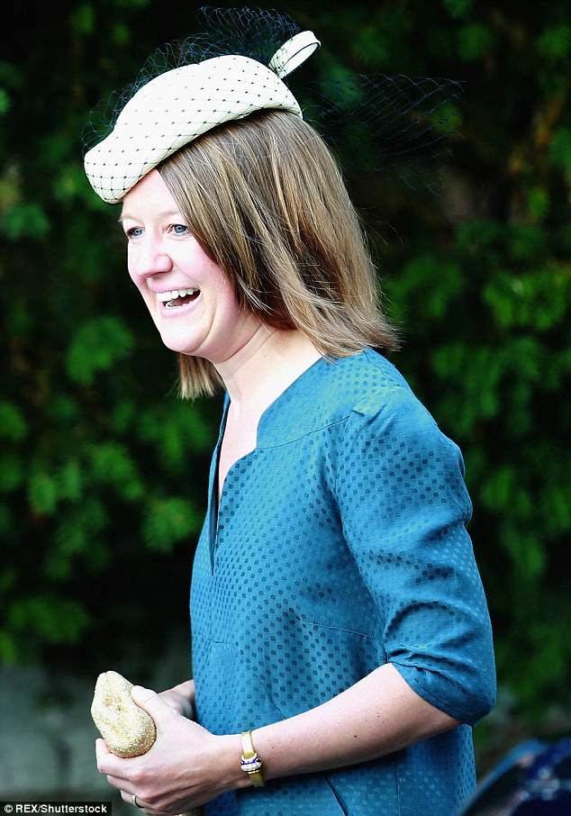 Aunt Lady Sarah McCorquodale, 63, is Princess Diana's eldest sister. She will attend the royal wedding with her husband Neil, pictured