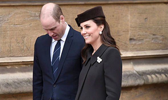 Even heavily pregnant Kate Middleton made an appearance Photo (C) WIRE IMAGE