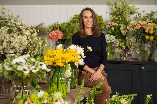 Florist Philippa Craddock has been chosen to create the floral displays for the wedding of Prince Harry and Meghan Markle [Getty]