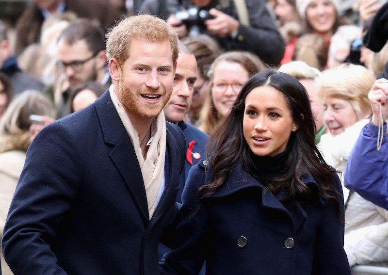 Prince Harry and Meghan Markle attends the Terrance Higgins Trust World AIDS Day charity fair Photo (C) GETTY