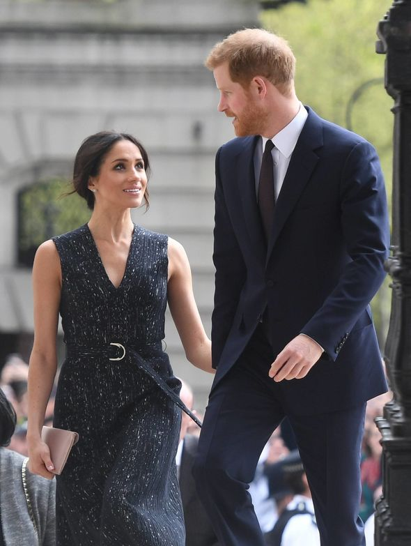 Harry and Meghan met on a blind date arranged by a mutual friend Photo (C) PA