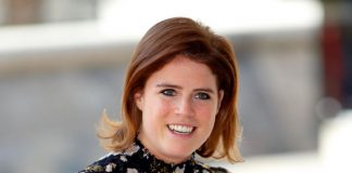 It's being claimed online that Princess Eugenie's outfit was inappropriate for the event. Photo Getty Images