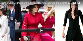 Kate Camilla and Sophie but never to Zara