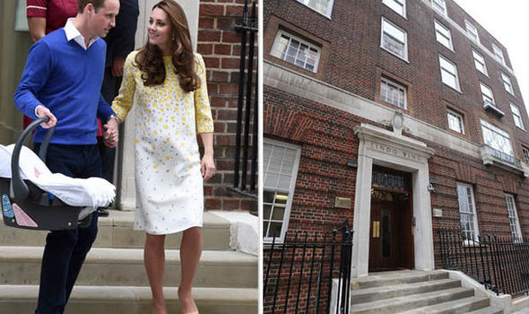 Kate will give birth to her third child at the £6000 a night Lindo wing Photo (C) GETTY