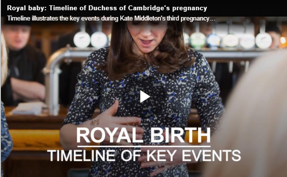 Kate made her final royal engagement on Thursday, March 22, marking the start of her maternity