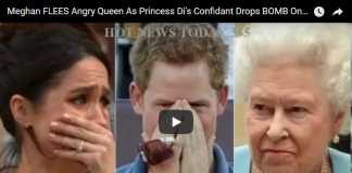 Meghan FLEES Angry Queen As Princess Di's Confidant Drops BOMB On Harry