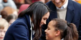 Meghan Markle Much like Princess Diana she is much more hands on with the general public Photo C GETTY