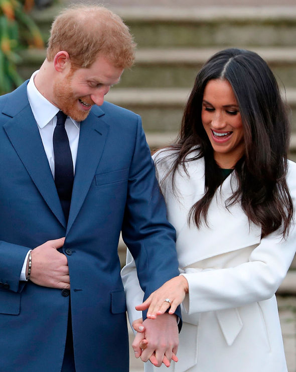 Meghan Markle Actress and Prince Harry engagement shoot secrets revealed Photo (C) GETTY