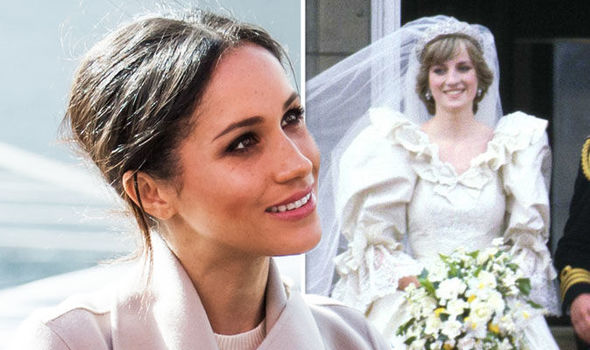 Meghan Markle Suits actress will copy Princess Diana's wedding details when she marries Harry Photo (C) GETTY