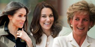 Meghan Markle and Kate are not so similar to Princess Diana, according to an analysis of their feet Photo (C) GETTY