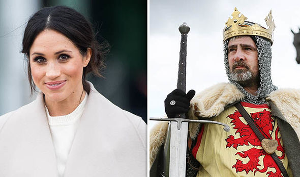 Meghan Markle is a blood relative of Scottish king Robert the Bruce, a book claimed Photo (C) GETTY