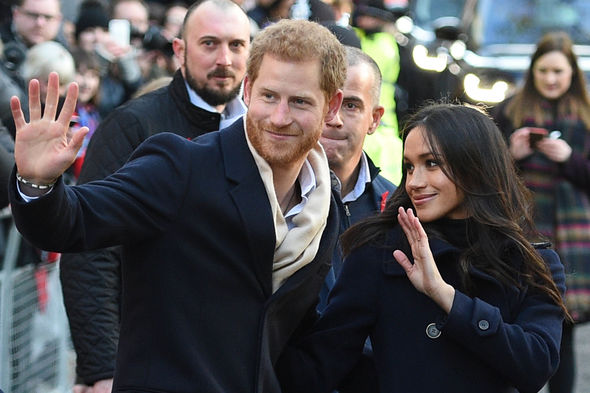 Meghan Markle is set to marry Prince Harry in May Photo (C) GETTY