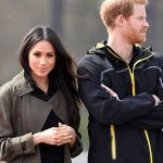 Meghan Markle showed support for her husband-to-be Photo (C) WIRE IMAGE