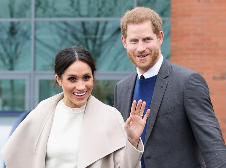 Meghan and Harry are tying the knot on May 19, but it won't be the first time Meghan's said 'I do'. Photo Getty