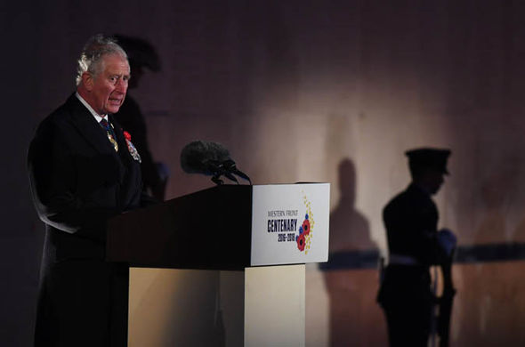 Ms Winkleman described Prince Charles's act as a 'magnificently practical' gift Photo (C) GETTY