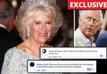 NOT IN OUR NAME! Brits are still refusing to allow Camilla to be their Queen Photo (C) GETTY