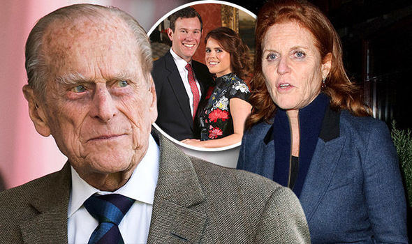 Philip is reportedly still upset at Sarah Ferguson over her 90s toe sucking scandal Photo C GETTY