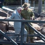 Prince Charles is on his last day his Commonwealth tour of Australia Photo C REUTERS