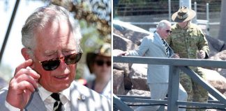 Prince Charles took a tumble in Darwin Photo C REUTERS