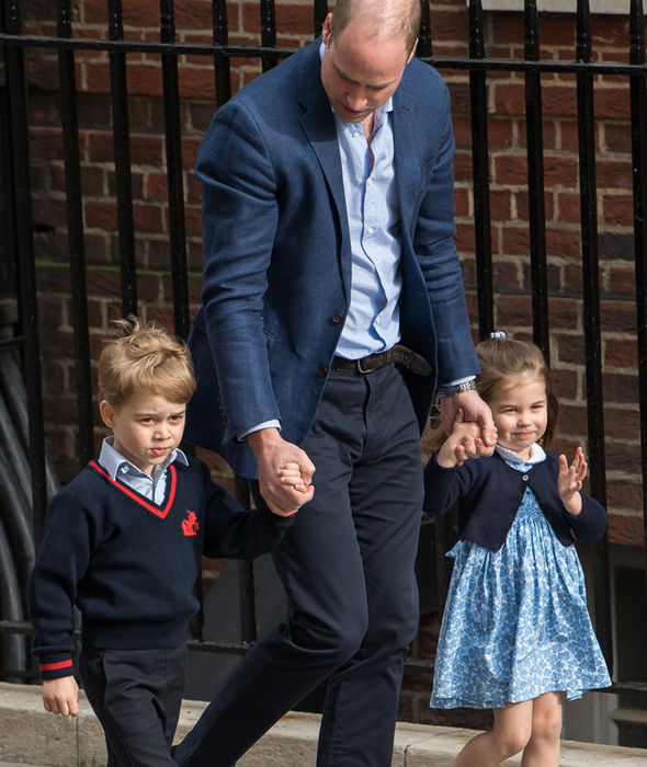 Prince George Makes ADORABLE Gesture To Protect Princess