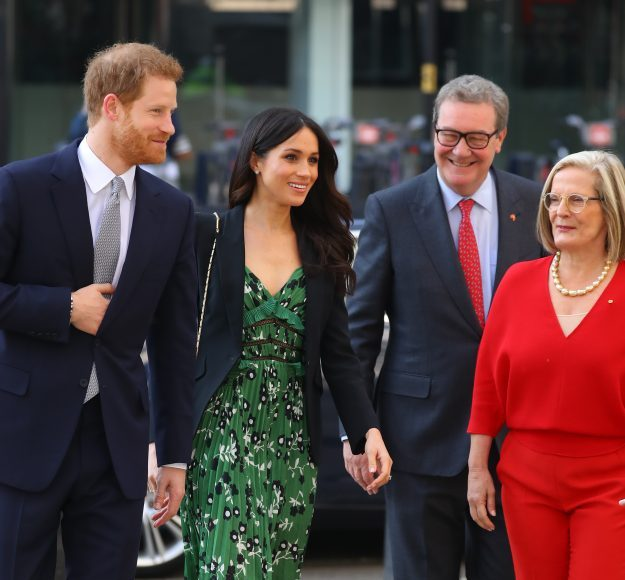Prince Harry and Meghan Markle attended an Invictus Games reception together [WENN]