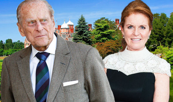 Prince Philip He has banned Sarah Ferguson from staying with the royal family at Sandringham House Photo (C) GETTY