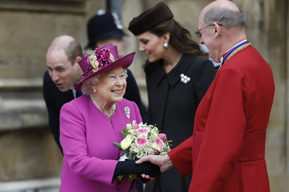Prince Philip health latest The Queen attended the Easter Sunday service without her husband Photo (C) GETTY